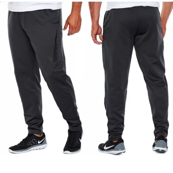Big and Tall Nike Men/'s Basketball Athletic Fit Pants size 3XL  gray//black NWT